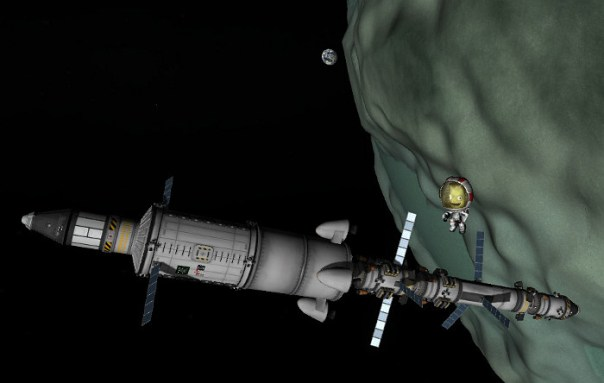 Space Station around Minmus