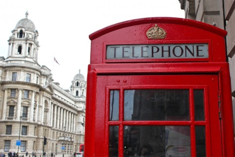 Telephone Booth London UK