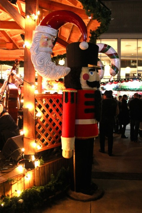 Nutcracker at the German Christmas Market in Vancouver, Canada via ZaagiTravel.com