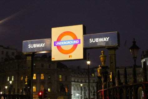 Tube stop in London, England via ZaagiTravel.com