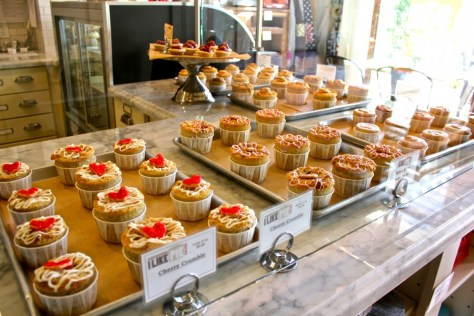 "Pies at I Like Pie in Claremont ""Village"", California via ZaagiTravel.com"