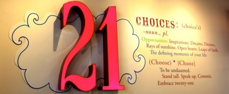 "21 Choices Frozen Yogurt in the Claremont ""Village"", California via ZaagiTravel.com"