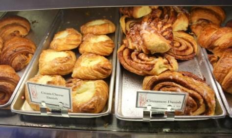 Baked goods at the Scandia Bakery in Laguna Beach, California via ZaagiTravel.com