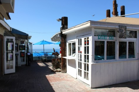 Shops in the Laguna Village in Laguna Beach, Orange County, California via ZaagiTravel.com