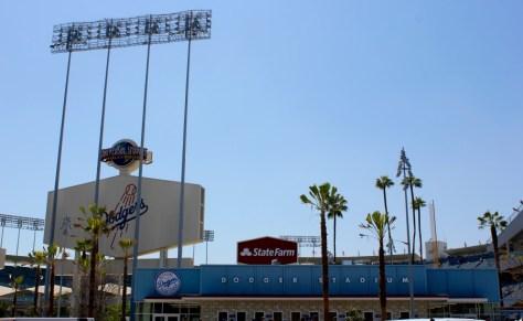 Dodger Baseball Stadium in Los Angeles, California via ZaagiTravel.com