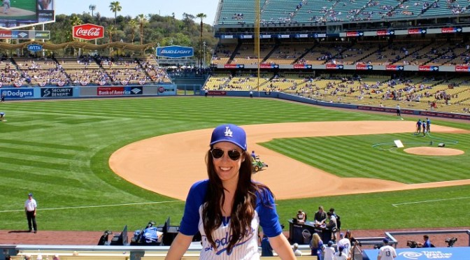 Opening Weekend at the Los Angeles Dodgers Baseball Stadium