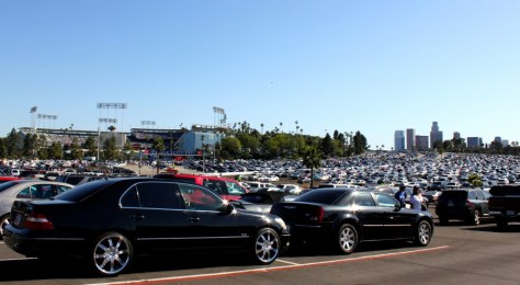 Dodger Baseball Stadium in Los Angeles, California via ZaagiTravel.com