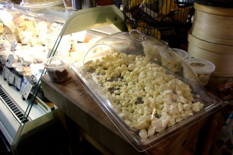 Cheese curds from Beecher's Handmade Cheese outside Pike Place Market in Seattle, Washington, United States via ZaagiTravel.com