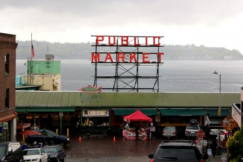Pike Place Market in Seattle, Washington, United States via ZaagiTravel.com