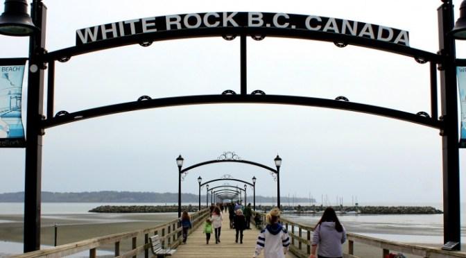 The Pier in White Rock, British Columbia, Canada via ZaagiTravel.com
