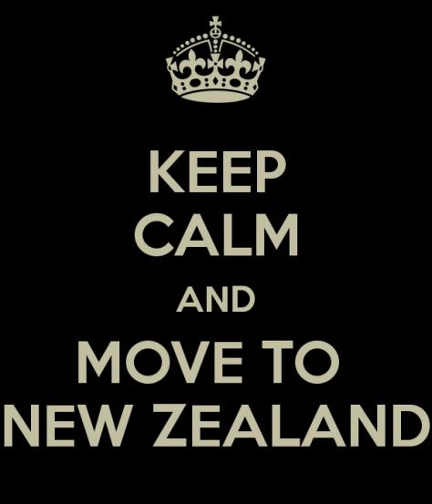 Keep Calm And Move To New Zealand via ZaagiTravel.com