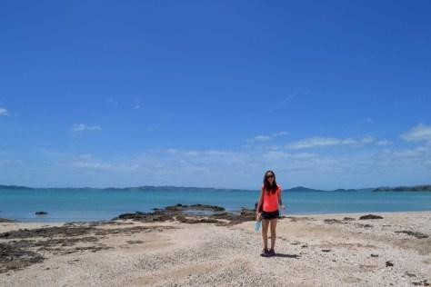 Alexa Rae on the Maraetai Coast in New Zealand via ZaagiTravel.com