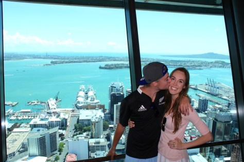 Sky Tower in Auckland, New Zealand via ZaagiTravel.com