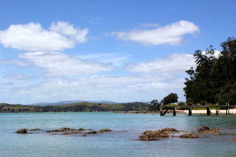 The Maraetai Coast in New Zealand via ZaagiTravel.com