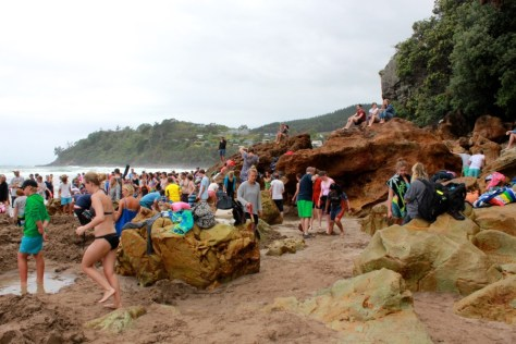 Hot Water Beach in Coromandel, New Zealand via ZaagiTravel.com
