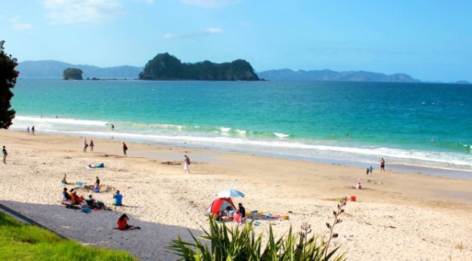 A-Z Challenge: Exploring the Coromandel & Cathedral Cove, New Zealand