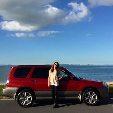 RubyCar at Eastern Beach in Auckland, New Zealand via ZaagiTravel.com