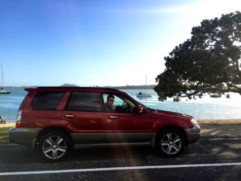 RubyCar at Bucklands Beach in Auckland, New Zealand via ZaagiTravel.com