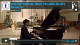 Western Classical Night: Neville Bharucha in Concert