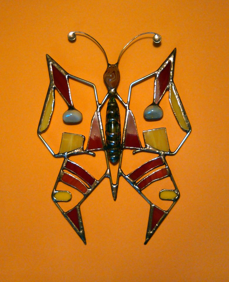 Indiánský motýl