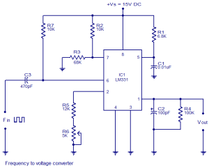 frequency-to-voltage-converter-using-LM331