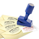 Штампы-визитки и монограммы