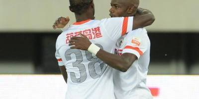 The 35 year old has been banging goal in China