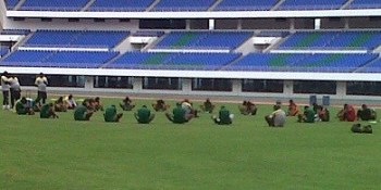 Chipolopolo Training