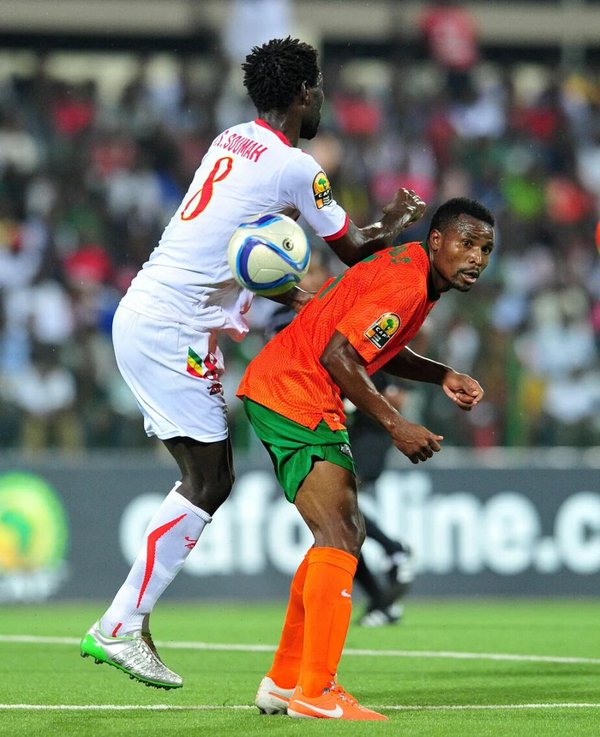 Chipolopolo nailed in Togo