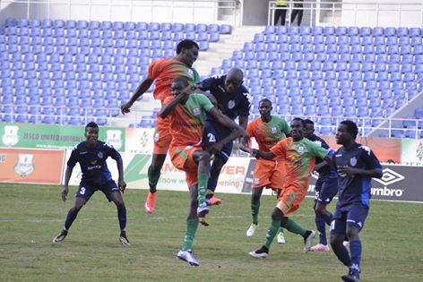 Zesco United 1 - 1 Wydad Casablanca (As it happened)
