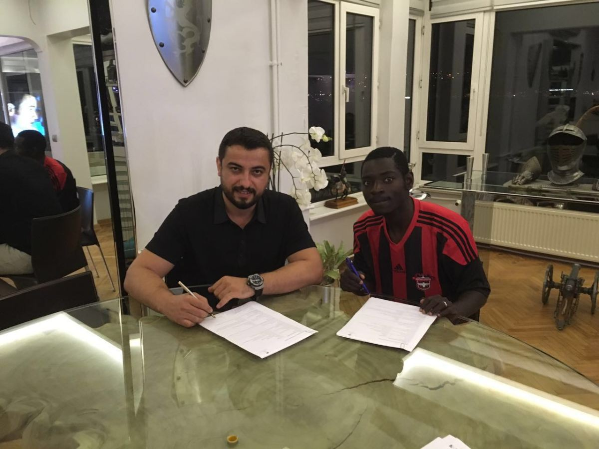Evans Kangwa signs four year contract in Turkey