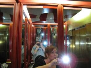 Wonders Lounge elevator