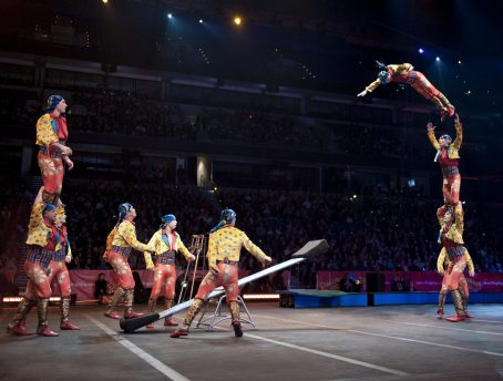 Ringling Bros troupe
