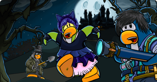 Club Penguin Halloween Party