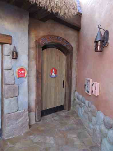 Rapunzel rest area
