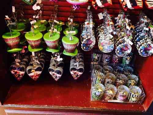 Alice in Wonderland Christmas Ornaments