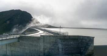 Kárahnjúkar-Staudamm