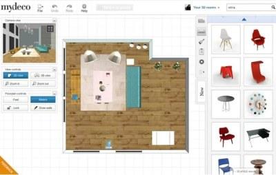 Aplikácie na návrh interiéru, domov aj nábytku: mydeco 3D ...