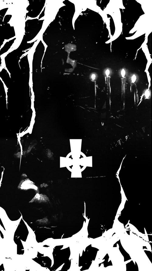 Medium Of Black Metal Wallpaper