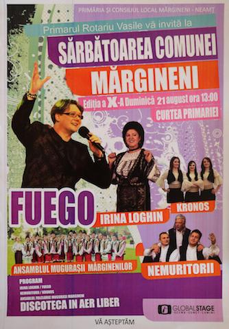 sarbatoarea comunei Margineni