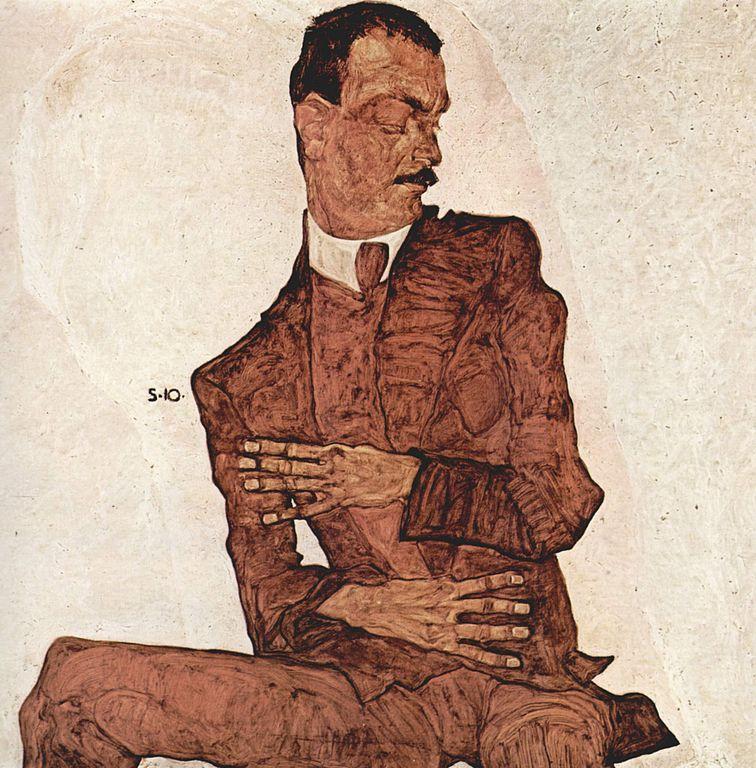Portrait of Arthur Rössler, 1910