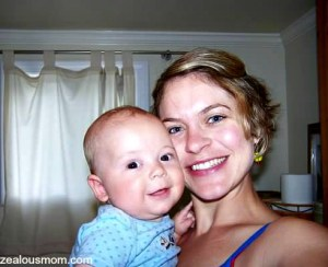 brooks and mommy
