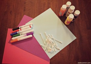 snowman craft supplies