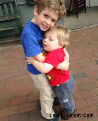 Wordless Wednesday: Brothers @zealousmom.com