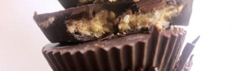 שוקולד ממולא חלבה ופצפוצי כוסמת