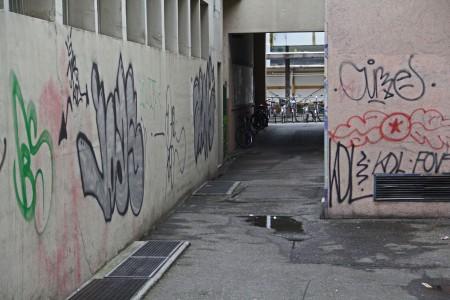 Cedernweg-Graffiti