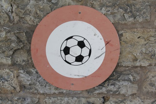 Fussballverbot