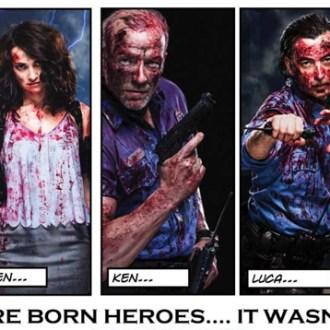 Die Horror-Clowns von «Trumpville» – Mitchell Altieris «The Night Watchmen»