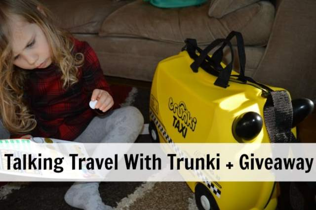 Talking Travel With Trunki + Giveaway
