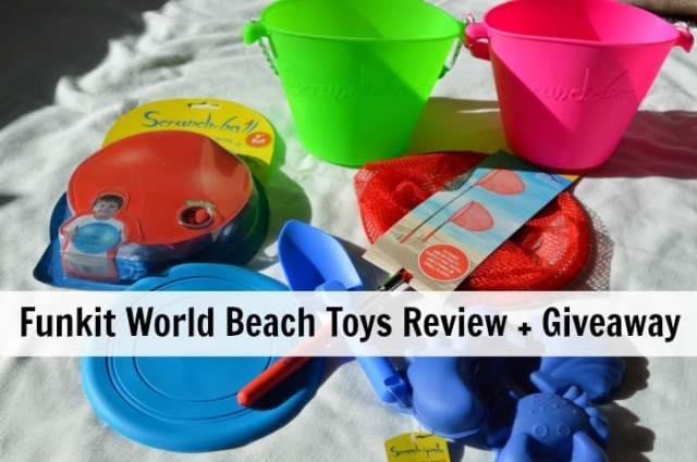 Funkit World Beach Toys Review + giveaway
